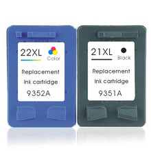 Compatible Ink Cartridges21xl 22xl for hp C9351AA C9352AA for HP DeskJet 3910 3915 3930 3930V