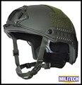 Lg/xlg od deluxe kevlar à prova de balas nível iiia oliver drab rápido relatório de teste balístico capacete com hp branco e 5 anos garantia