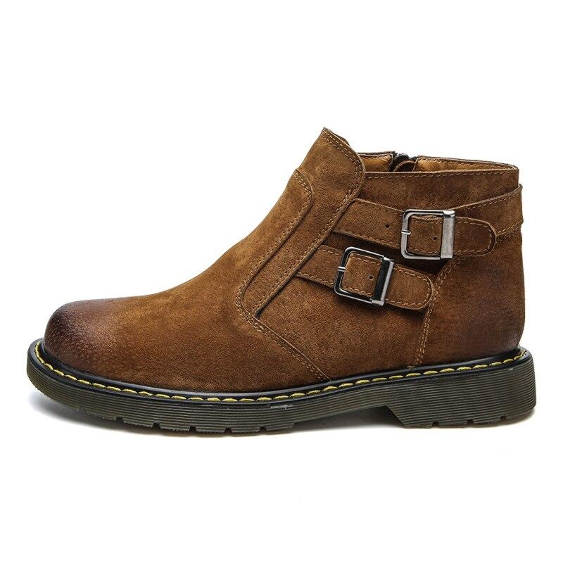 929m Mocasines 929m Green Cuero Brown Zip 929 929m Hombres Genuino De 44 M Gray Zapatos Hebilla 39 929m Moda Casual Black Botas Tobillo Decoración Tamaño Hombre U4Bxn7