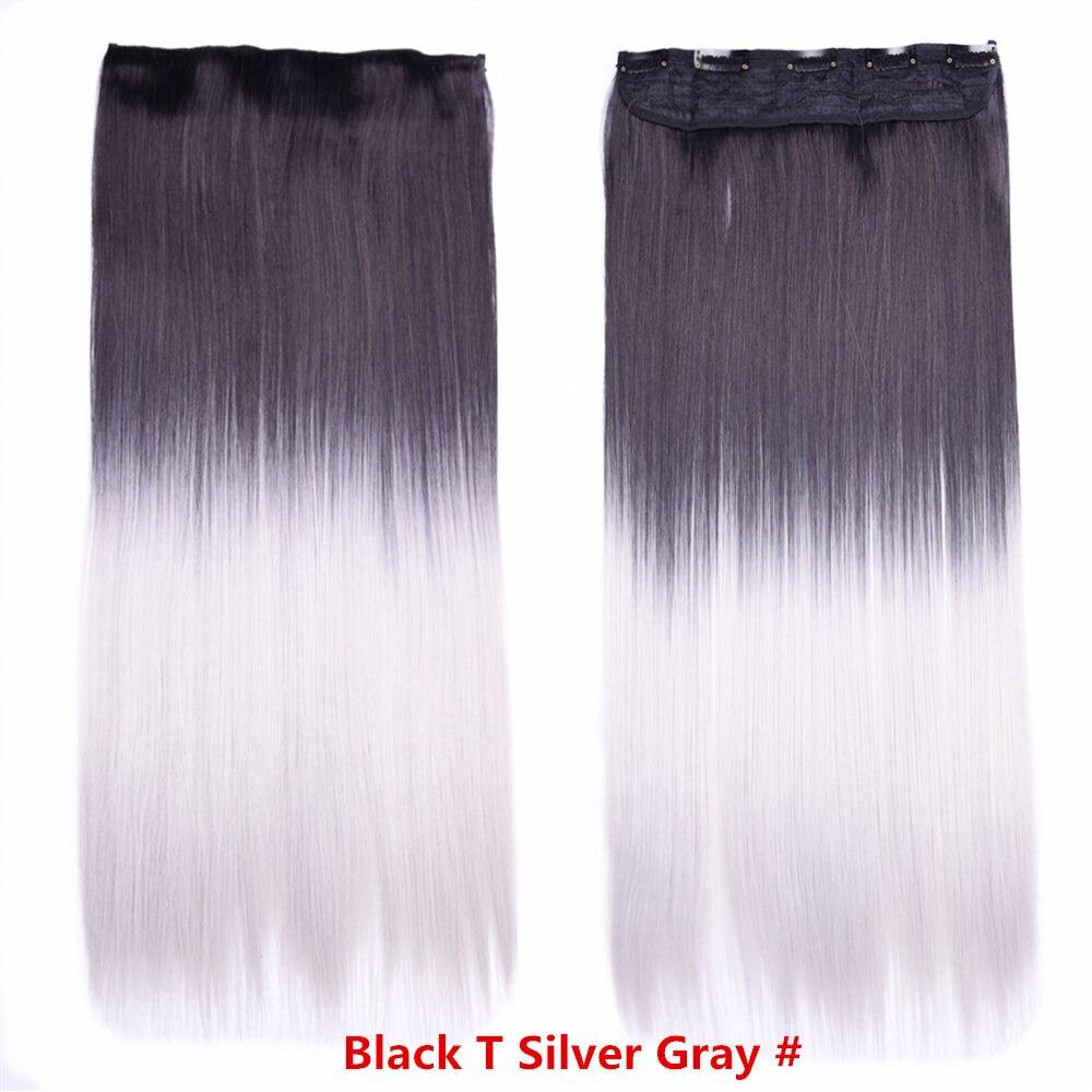 ombre gray hair_