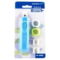LifeMaster Sunwood мини Eletric ластик автоматический карандаш ластик набор для набросков резиновых школьных и офисных принадлежностей