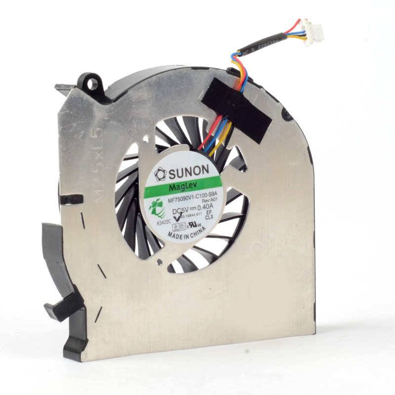 Silver Laptops Computer Replacements Cooling Fan CPU Cooler Power 5V 0.4A Fan Accessories Fit For HP DV6-7000/DV7-7000 F1171 P72
