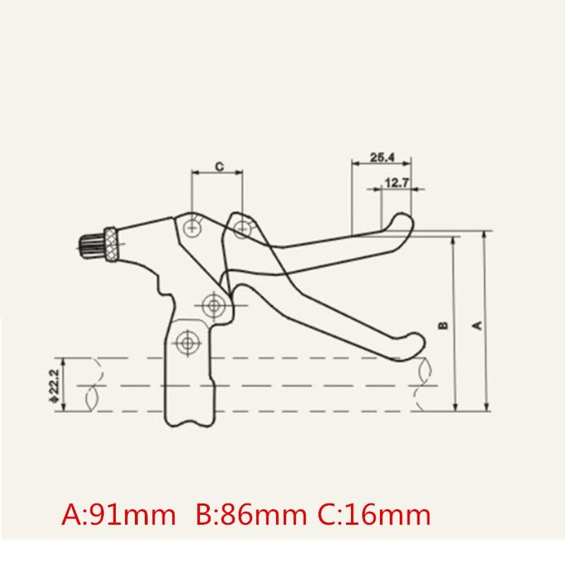 bicycle brake parts diagram