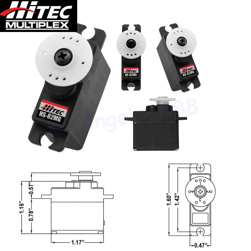 Hitec HS-82MG стандартный металлический редуктор Микро сервопривод 32082S перо