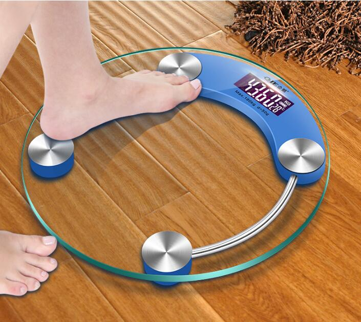Electronic Household Precision Weight Scale Small Body Weight Reducer for Male and Female Generation Scale Dormitory