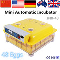 Automatic Incubator and Hatcher/Egg Incubator Hatchery/Chicken Poultry Farm Breeding Equipment JN8-48