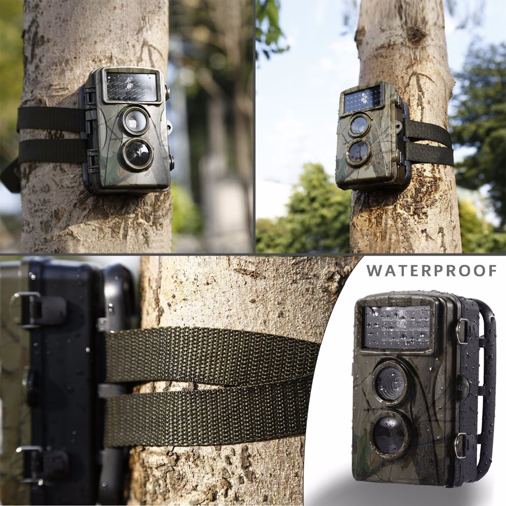 12MP 720P Hunting Camera H3 IP54 Waterproof Wild Trail Camera Infrared Night Vision Animal Observation Recorder 1