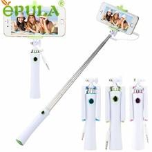 Caliente-venta EPULA Palos Autofoto Regalos Al Por Mayor 135-700mm Trípode de Mano Extensible Monopie Palo Para el iphone Android teléfono