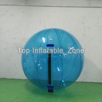 1.5M/2M Dia Inflatable Water Ball Cheap Price Hamster Ball Customized Logo Water Balloon For Human Clear water zorb Ball