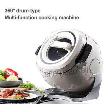 220 В 2000 Вт интеллектуальная автоматическая машина для жарки с перемешиванием 6л бытовая электрическая кастрюля для приготовления пищи, анти...