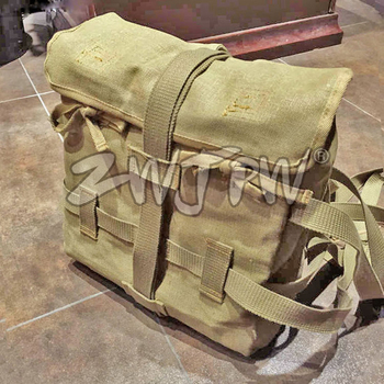 WW2 WWII  ARMY 1940 OCTOPUS FLAX Outdoor Hiking Hunting Camping Climbing BACKPACK JP/107108