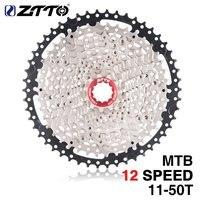 11 50T ZTTO 11 Speed Cassette Compatible Road Bike Sram System High Tensile Steel Sprockets Folding Silver Black Gear