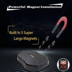 Image 3 - Gps 트래커 tk905 5000 mah 차량 추적 장치 자동차 gsm gps 로케이터 방수 자석 대기 90 일 웹 app 평생 무료