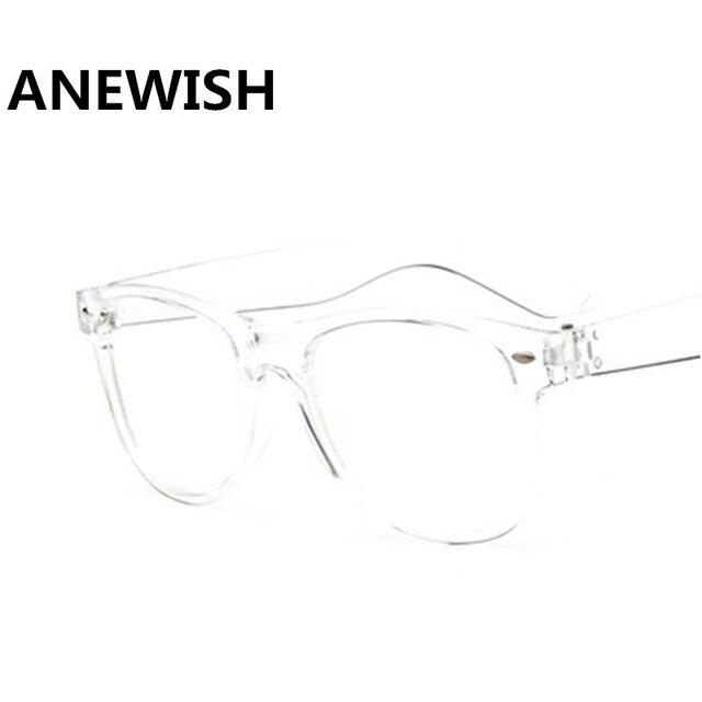1923a96dc4a Fashion Women s Glasses Transparent Square Frames Retro Female Eyeglasses  Men s Optics Computer Eyewear oculos de grau