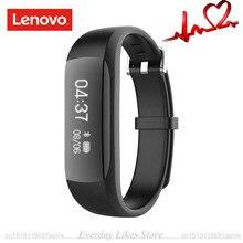 Оригинальные Lenovo HW01 Bluetooth 4.2 смарт-браслет сердечного ритма монитор Шагомер Спорт фитнес-трекер для Android IOS SmartBand