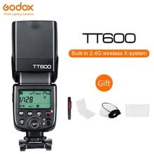Flash caméra sans fil Godox TT600 2.4G HSS Speedlite pour Canon Nikon Sony Pentax Olympus DSLR