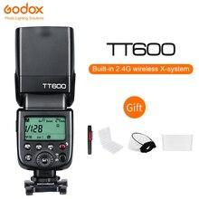 Godox TT600 2.4 جرام كاميرا لا سلكية فلاش HSS Speedlite لكانون نيكون سوني بنتاكس أوليمبوس DSLR
