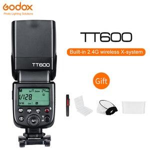 Image 1 - Godox TT600 2.4G Wireless Camera Flash HSS Speedlite for Canon Nikon Sony Pentax Olympus DSLR