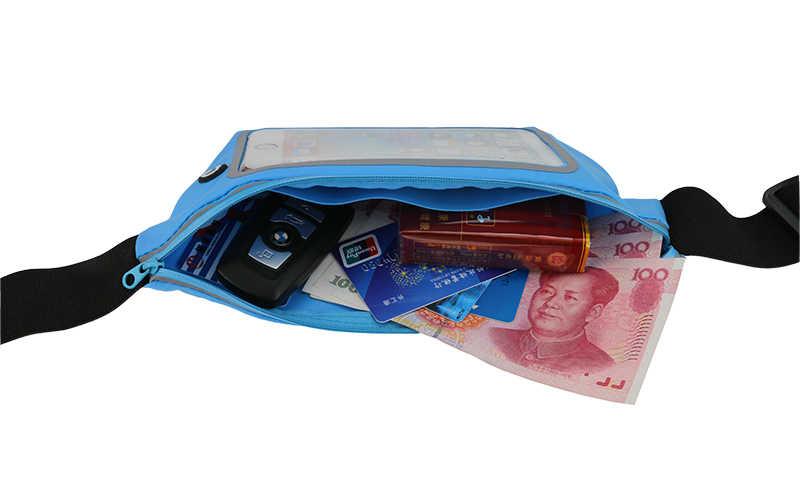 العالمي الورك الحقيبة تشغيل مقاوم للماء الرياضة حقيبة الخصر الحال بالنسبة لسوني اريكسون z2 z3 z5 غطاء الهاتف ل موتو g4 زائد z x اللعب