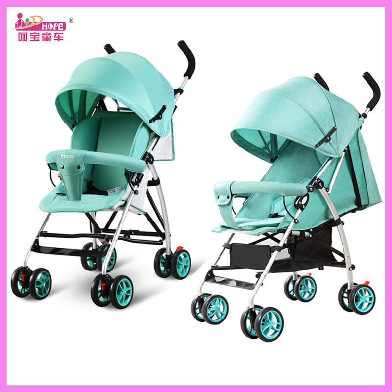 Hapair Baby Carriage Lightweight Stroller Folding Portable Baby Cart Shock Absober Child Trolley Detachable Baby Pram Pushchair luxury baby stroller with carrycot pram set 2 in 1 baby stroller trolley baby car child folding cart bassinet light
