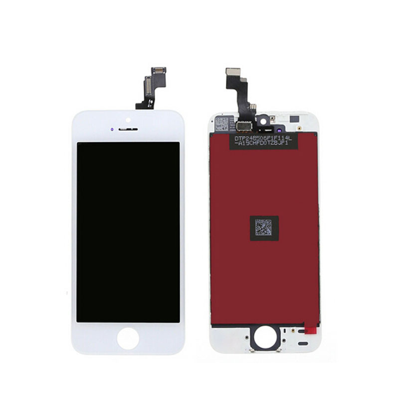 Onecell 10PCS LCD Display With Touch Screen Digitizer Assembly For iPhone 5s Free Shipping Black White
