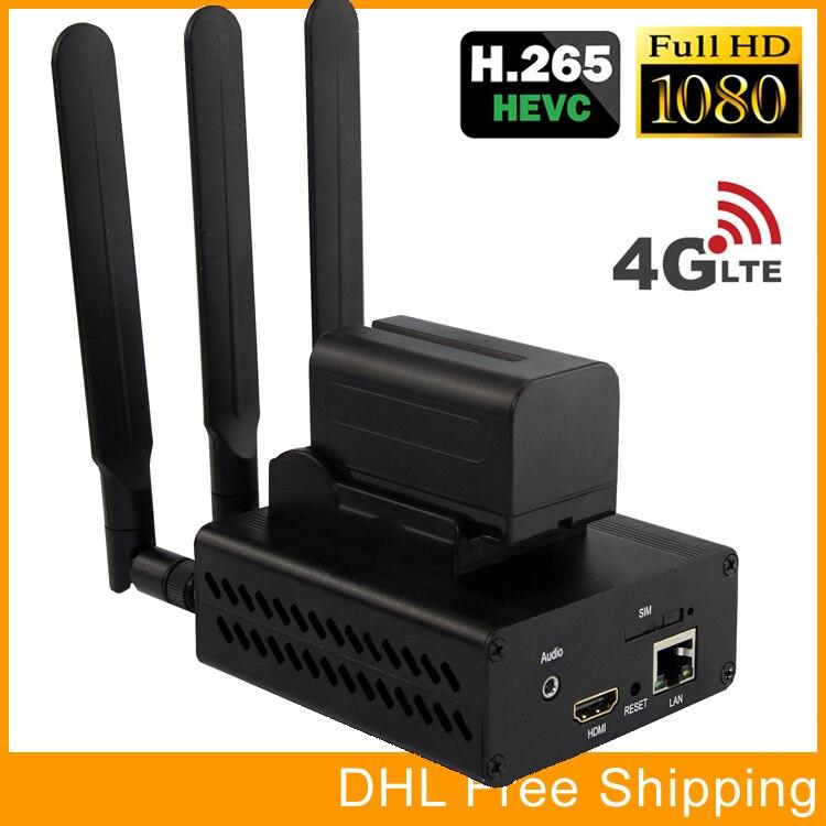 URay HEVC H265 HDMI À IP Live Streaming Codeur H.265 Vidéo Audio Codeur RTMP RTSP Codeur Pour la Diffusion En Direct de Diffusion