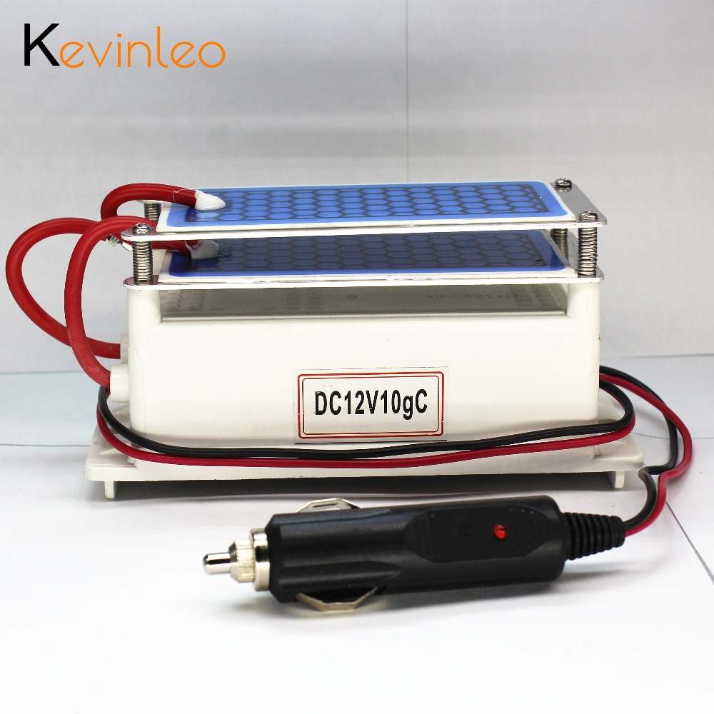 Kevinleo Portable Ozone Generator Car Ceramic Plate DC12v 10g Air Purifier Air Sterilizer Car Ozone цена и фото