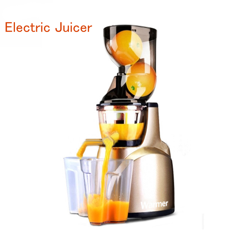 Electric Juicer Vertical Orange Juicer Extractor Automatic Orange Juice Machine Large Capacity Juice Soybean Milk Maker WJE-L2B household electric juicer fruit juice maker machine automatic vegetable low speed extractor mixer