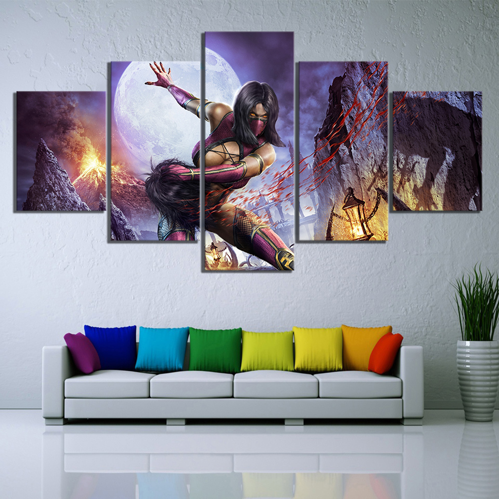 Mortal Kombat X Hot Fighting Game Silk Poster 13x20 inch
