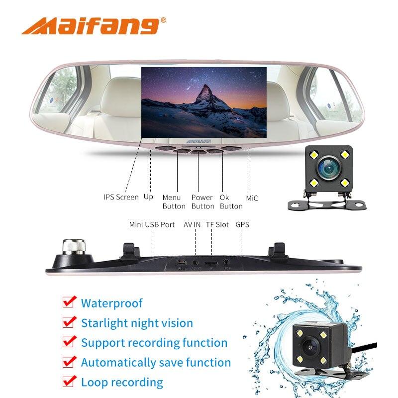 FHD 1080P Avtomobil DVR Kamera 5 düym 170 dərəcəlik Video Səs - Avtomobil elektronikası - Fotoqrafiya 3
