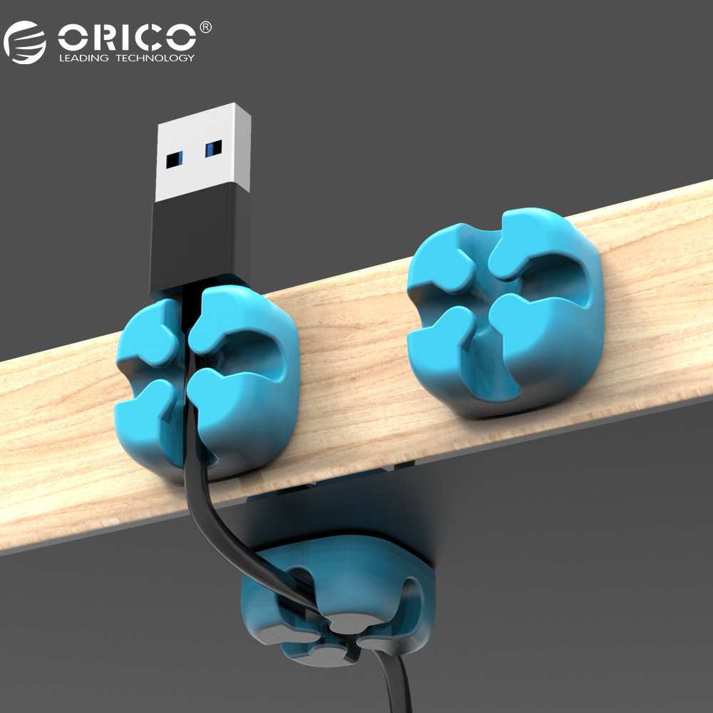 ORICO Colored Cable Winder Wire Organizer USB Cable Earphone Holder Cord Management Protector ugreen cable holder organizer 25mm diameter flexible spiral tube cable organizer wire management cord protector cable winder