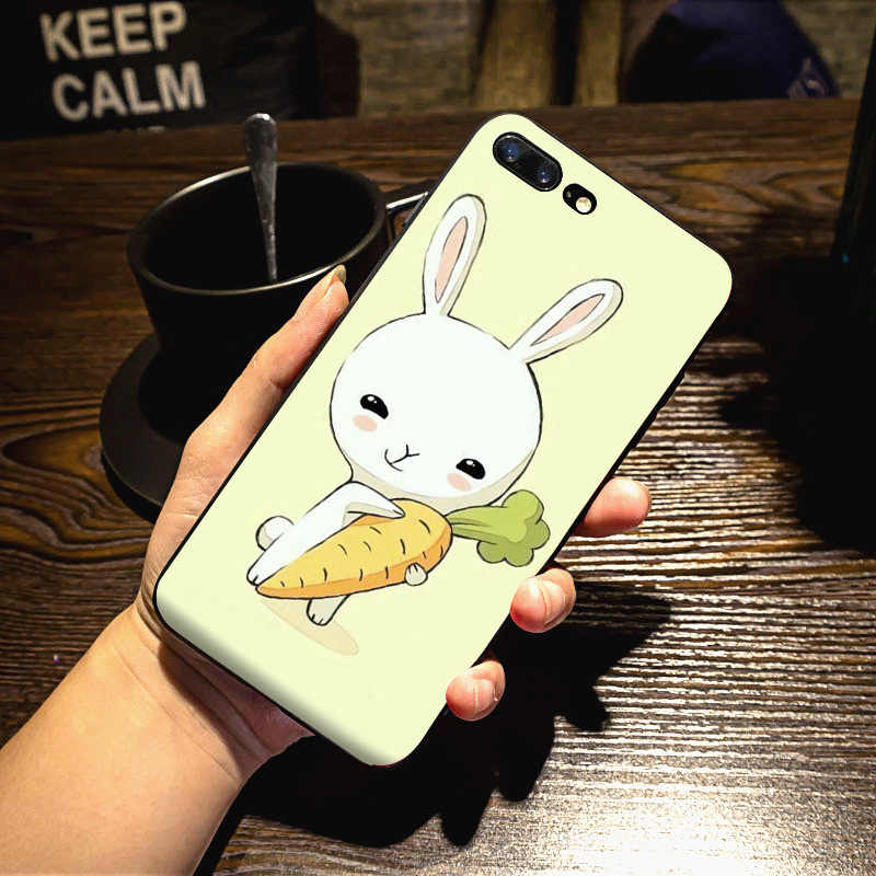 MaiYaCa Trăng Bunny rabbit Phong Cách Chất Lượng Cao Cổ Điển Phụ Kiện Điện Thoại Trường Hợp đối với iPhone 8 7 6 6 S Cộng Với X 10 5 5 S SE 5C trường hợp Coque