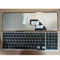 Russian laptop keyboard FOR SONY VPC F11 F12 F13 F21 F22 F136 F138 F117 F170 RU silver New