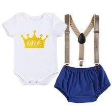 Vêtements pour bébés mignons pour Smash the Cake, tenue pour premier anniversaire, vêtements pour bébé garçon et fille, séance Photo