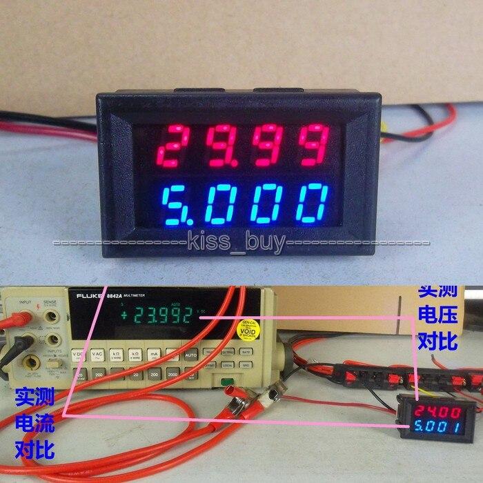 500v 50a Dc Voltmeter Ammeter Digital Dual Display Led Volt Amp Voltage Current Tester Meter 12v 24v 5v Car Easy To Lubricate Active Components