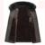 2017 El Más Nuevo Estilo de Otoño Invierno de Los Hombres de Largo Abrigo de Lana Slim Fit Outwear abrigo con cuello de piel de Abrigos de lana de Buena Calidad Superior 150z