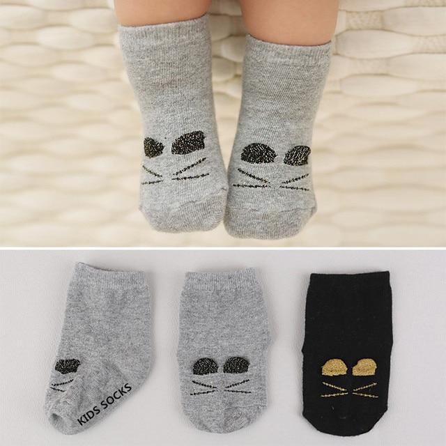 f68f519ec C18  High Quality Baby Socks Girl Luvable Friends Ribbed cotton Children  Clothing 0-4 years Newborn Baby Girl Socks