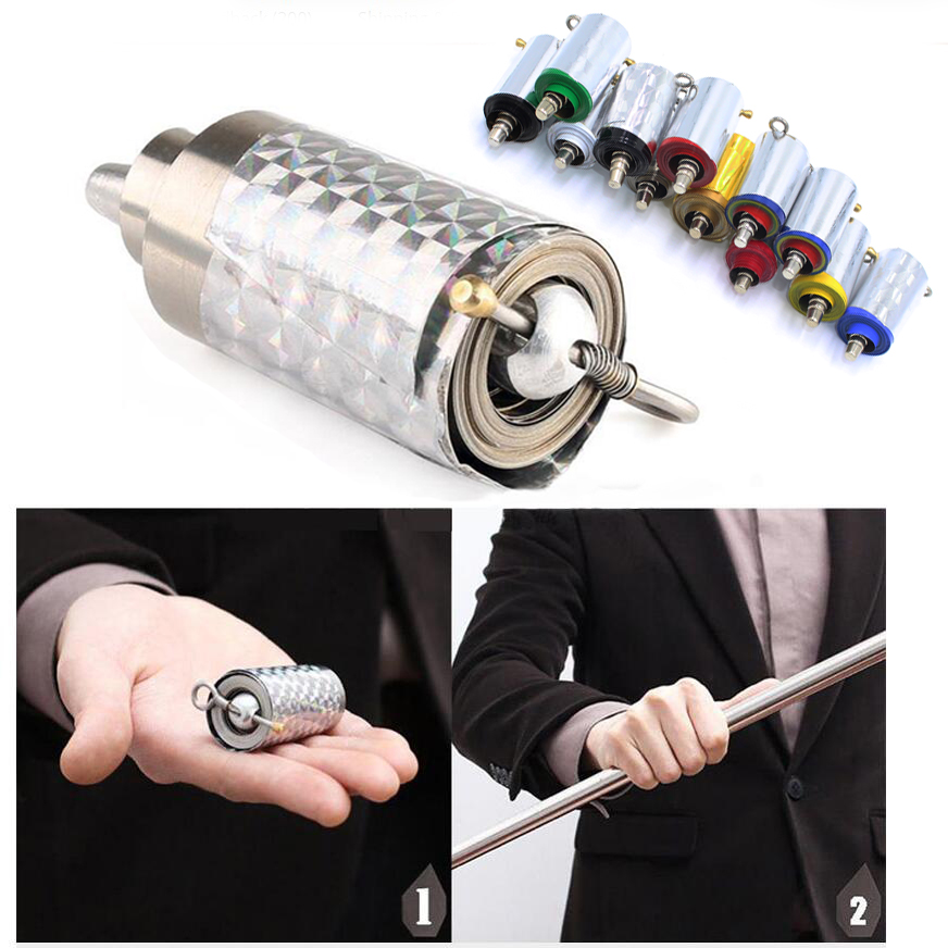 Appearing Cane Wand Stick Stage Magic Tricks Props Toys Professional Magician Magia