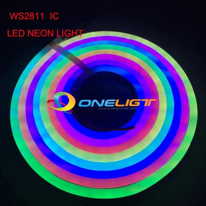 Ws2811 Ic Led Pixel String Module Digital Fullcolor Light Waterproof Rgb Led Module Christmas Decorative Dc5v 16mm Diameter 1led Durable Modeling Led Lighting Lights & Lighting