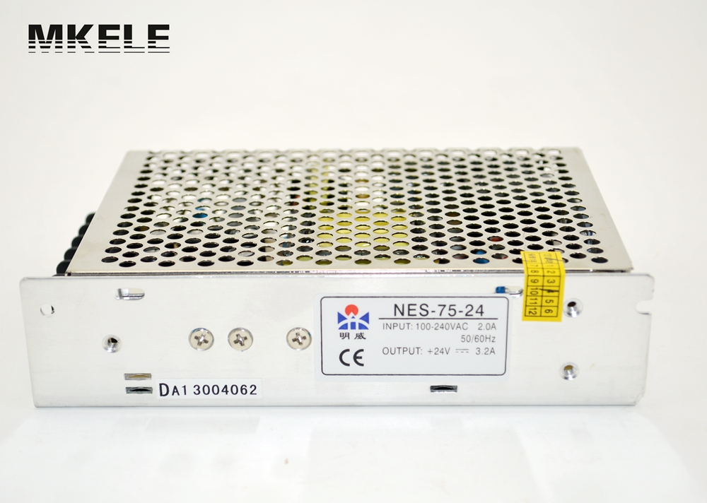 NES-75-12 12 volt power supply 12v switching power supply 75W 6.2A  Single Output power supply 12v  CB UL hot sale 12 volt switching power source supply rainproof 12v 15 200w fy 201 12 16 5a single output china