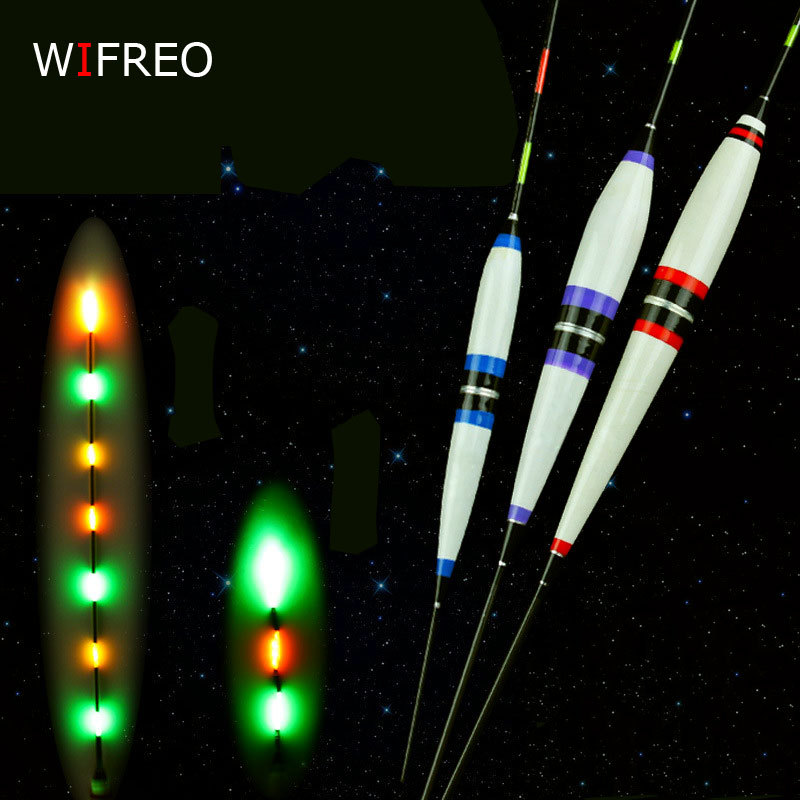 Wifreo 2szt. Premium Night Fishing Electronic Floats Luminous Elec - Wędkarstwo
