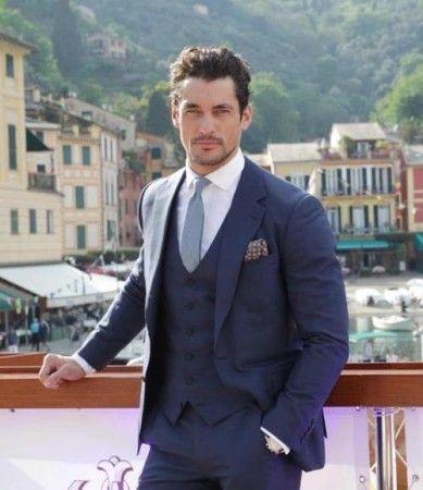 In 2017 The Latest Wedding Suit Men S Suits Best Man Jacket Blue Slimming Dress