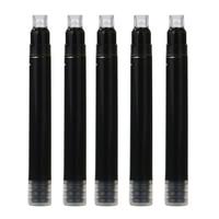 10pack (Jinhao 25 PCS International Size Pen Ink Cartridge Black For Fountain Pens