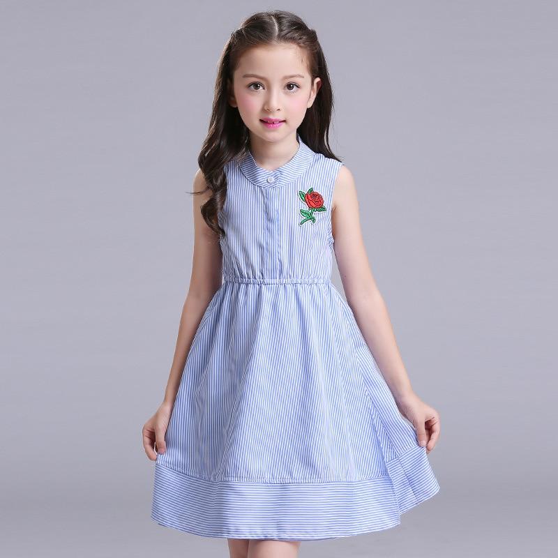 10b9c1388dab2 Adolescente filles robes d été 6 9 12 ans de style britannique enfants  costumes pour party girl vêtements enfants mode vêtements dans Robes de  Mère et ...