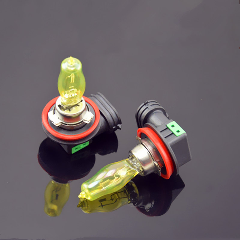 2pcs H1/H3/H4/H7/H11/9005/9006/H8/H9 100W 12V HOD Xenon Yellow 3000k Halogen Car Head Light Globes Bulbs Lamp Fog Ligh 2 pcs h1 h3 h4 h7 h8 880 881 9005 9006 h11 halogen light fog light lamp dc 12v 100w yellow spuer white bulbs for universal car