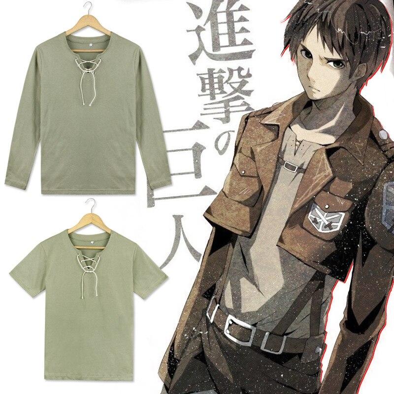 Shingeki no Kyojin Attack on Titan Eren Jäger Unifrom Anime Cosplay Costume