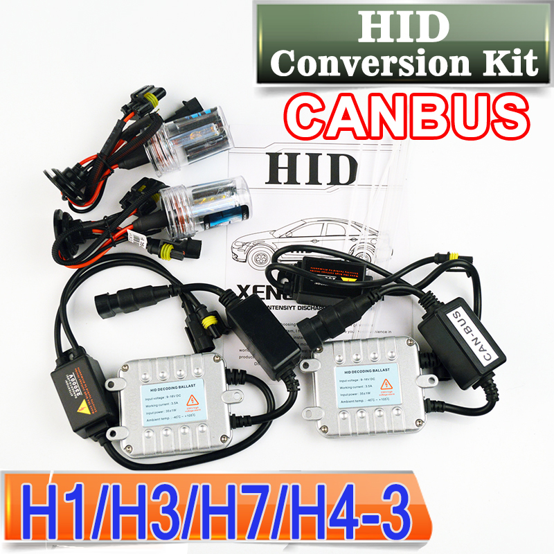 flytop canbus h1 h3 h7 h4 3 hid conversion kit xenon car. Black Bedroom Furniture Sets. Home Design Ideas