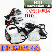 CANBUS H7 HID Conversion Kit 12V 35W XENON Car Bulb Auto AC Slim Ballast Headlight 4300K