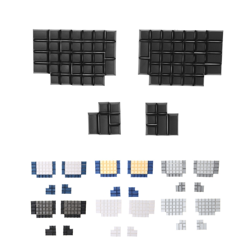 Pbt Keycaps DSA Blank Keycaps For Ergodox Mechanical Gaming Keyboard DSA Profile