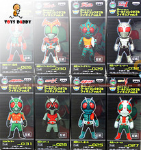 8pcs/lot 8cm 4th Generation Masked Rider Kamen Rider Animation Action Figure Office Hand PVC Model Toys Dolls Decoration